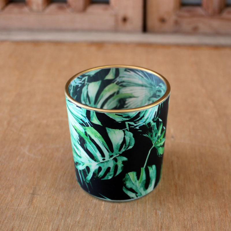 Monstera Leaf Tealight Holder - The Chic Nest