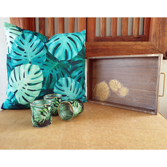Monstera Leaves Tray - The Chic Nest