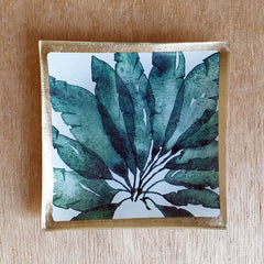 Monstera Trinket Dish