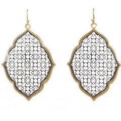 Moroccan Gold & Silver Earrings