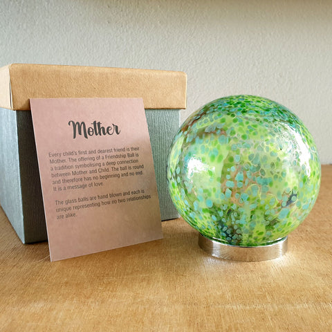 Mother Friendship Ball Spring Green