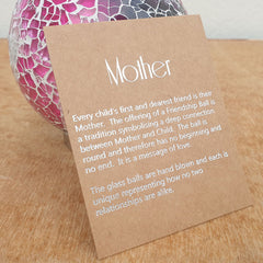 Mother Friendship Ball Fuschia Pink