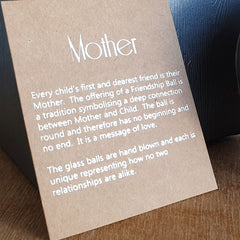Mother Friendship Ball Light Gold Speckle