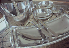 Mother of Pearl Platter - The Chic Nest