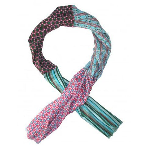 Multi Patterned Cotton Scarf