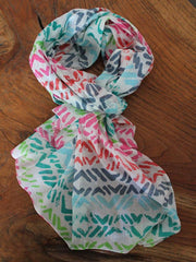 Multicolour Scarf - The Chic Nest