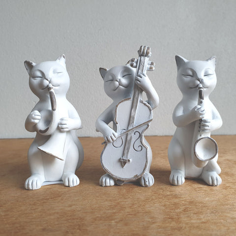 Musical Cats Set of 3 - The Chic Nest