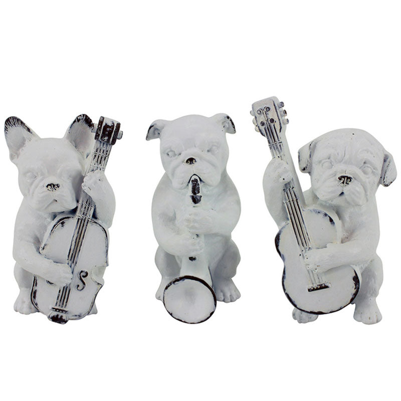 Musical Dogs Set of 3 - The Chic Nest