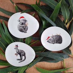 Christmas Wombat Trinket Dish - The Chic Nest