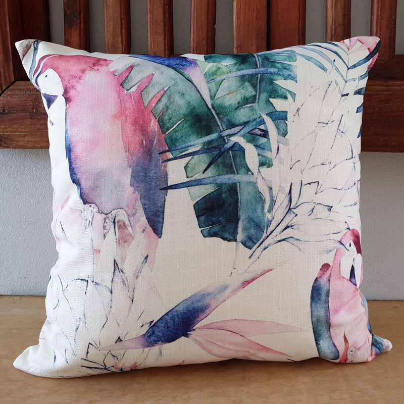 Native Birds Cushion - The Chic Nest