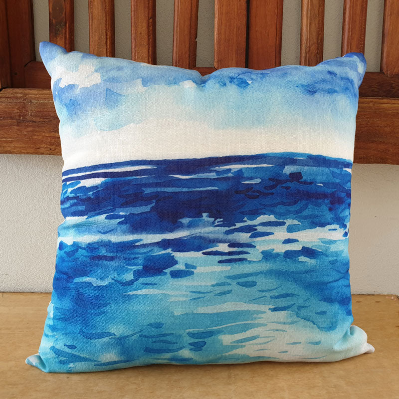 Ocean Blues Cushion