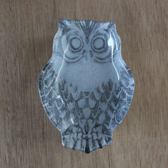 Owl Silver Plate - The Chic Nest