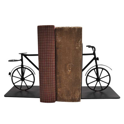 Pair of Bicycle Bookends Set of 2