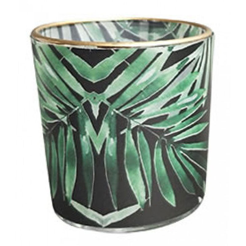 Palm Leaf Tealight Holder - The Chic Nest