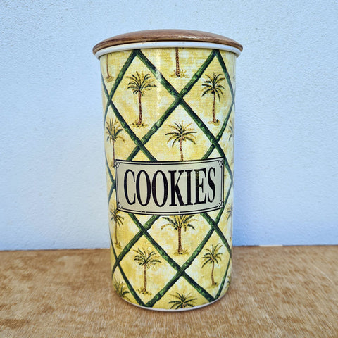 Cookie Jar Palm Trees - Tall