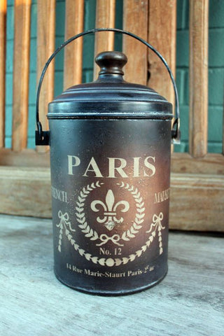 Paris Canister - The Chic Nest