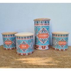 Patterned Cookie Jar - Tall