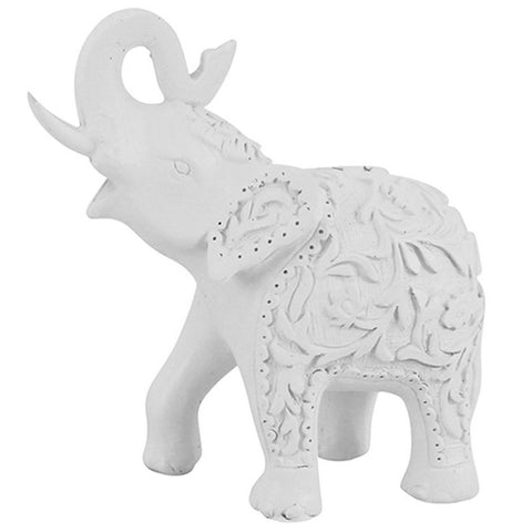 Patterned White Elephant