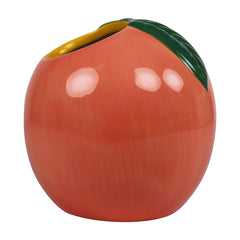Peach Ceramic Planter