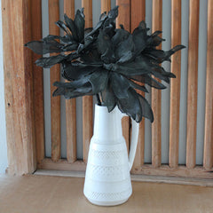 Peony Mesh Stem - Black - The Chic Nest