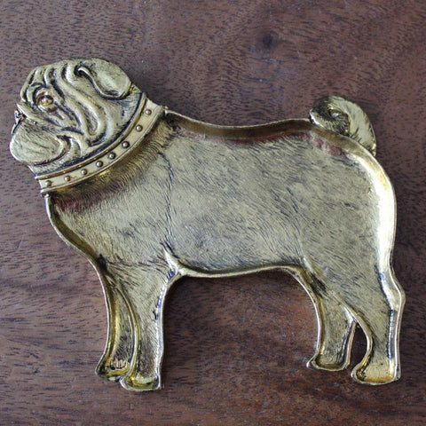 Percy Pug Trinket Dish - The Chic Nest