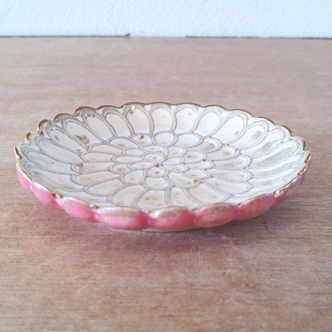 Cream Petals Trinket Dish - The Chic Nest