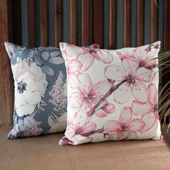 Pink Blossom Cushion - The Chic Nest