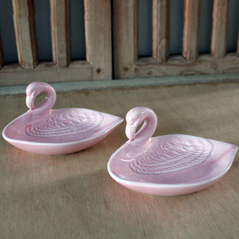 Flamingo Trinket Dish - The Chic Nest