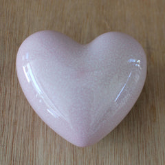 Heart Pebble Pink Aventurine - The Chic Nest