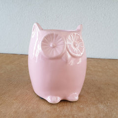 Pink Owl Planter - The Chic Nest