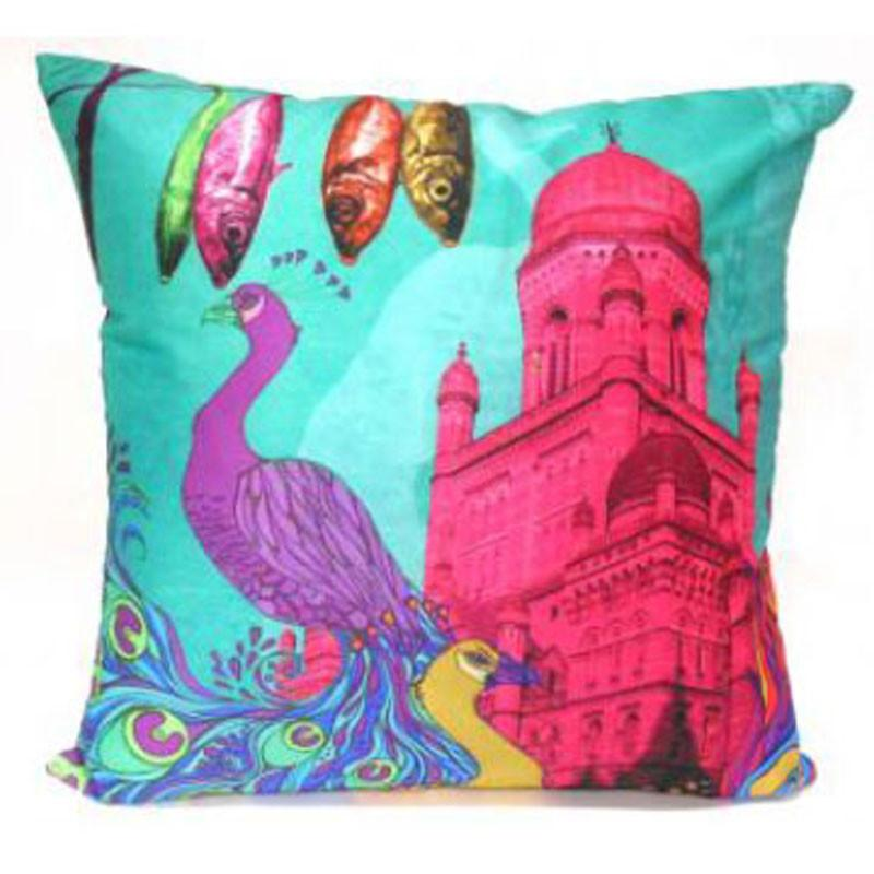 Pink Palace Cushion - The Chic Nest