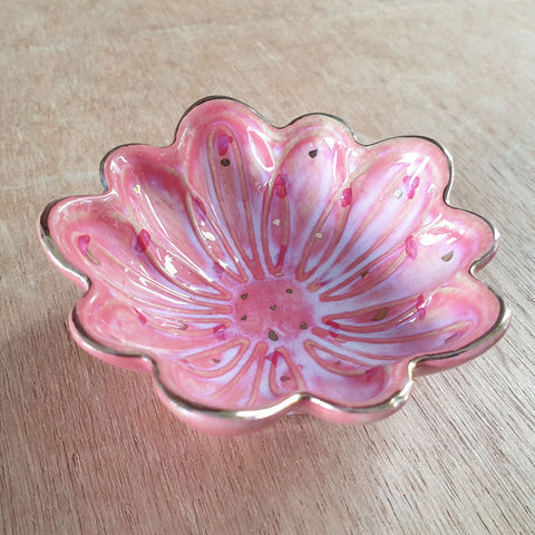 Pink Petals Trinket Bowl - The Chic Nest