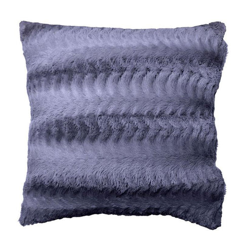 Plush Grey Cushion - The Chic Nest