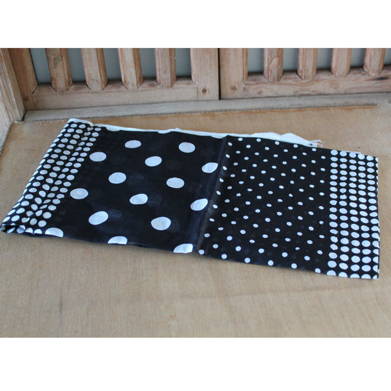 Black & White Polka Dot Scarf - The Chic Nest