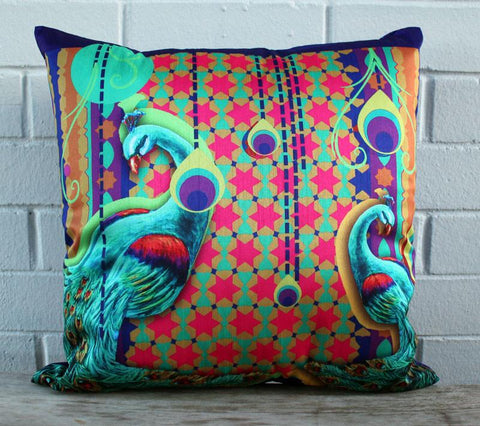 Pretty Peacocks Cushion