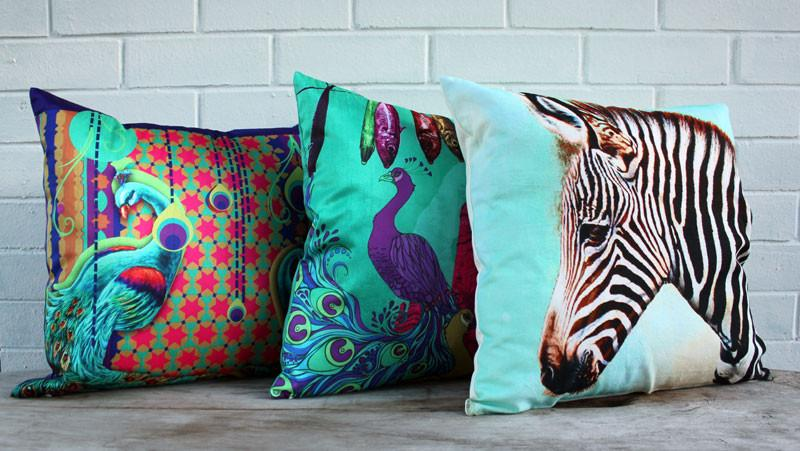 Zebra Cushion - The Chic Nest