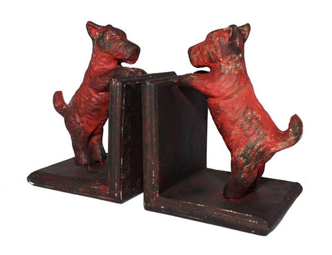 Puppy Dog Bookends Set of 2