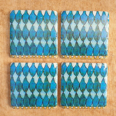 Quelez Set of 4 Coasters