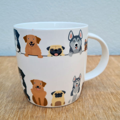 Quirky Dogs Gift Boxed Mug