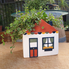 House Retro Planter