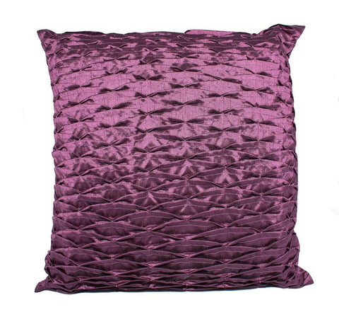 Ridge Purple Cushion - The Chic Nest