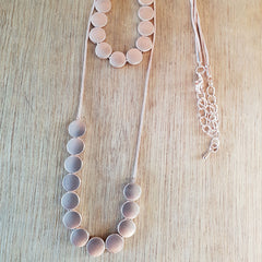 Rose Gold 2 Layer Necklace