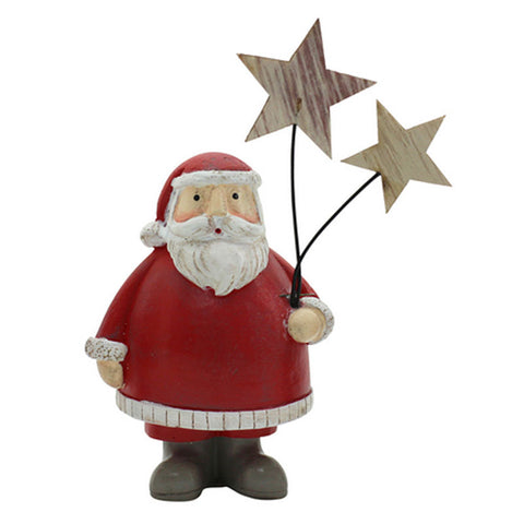 Santa Holding Stars - The Chic Nest