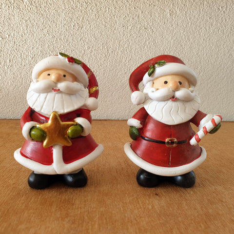 Set of 2 Red Santas - The Chic Nest