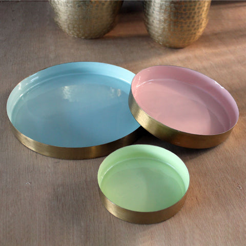 Set of 3 Bowls - Pastel - The Chic Nest