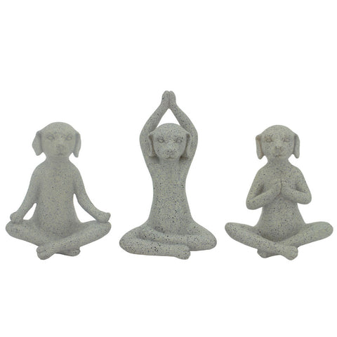 Yoga Dogs - Set of 3