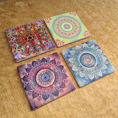 Set of 4 Coasters - Gypsy
