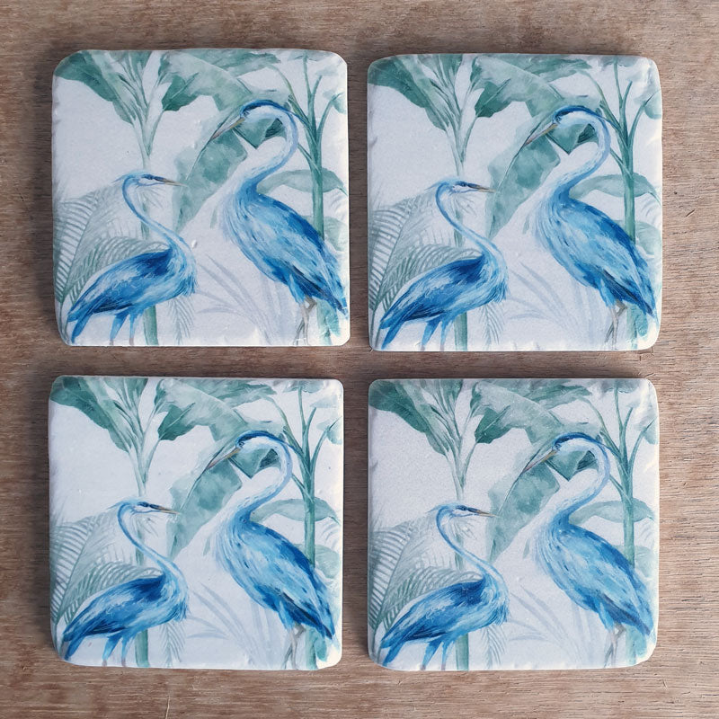 Cranes Set of 4 Coasters