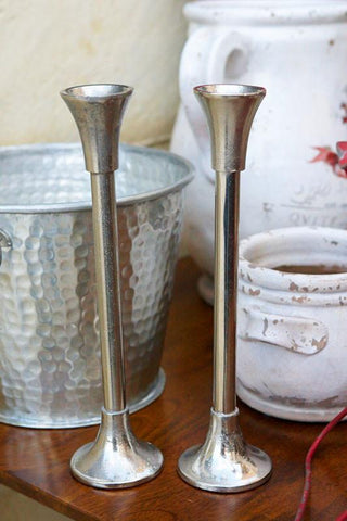 Short Rod Candlestick - The Chic Nest