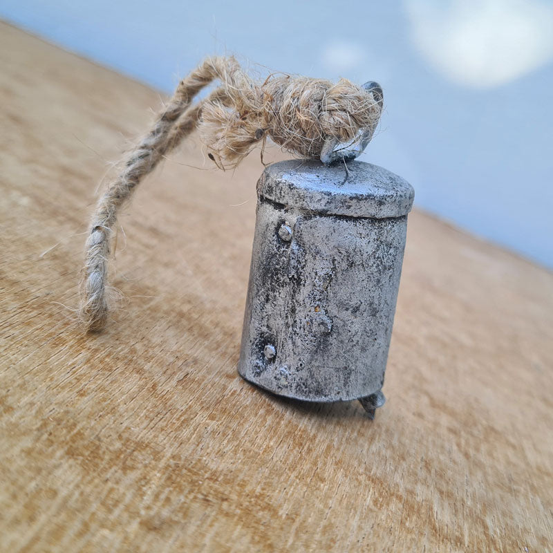 Small Silver Bell - Handcrafted